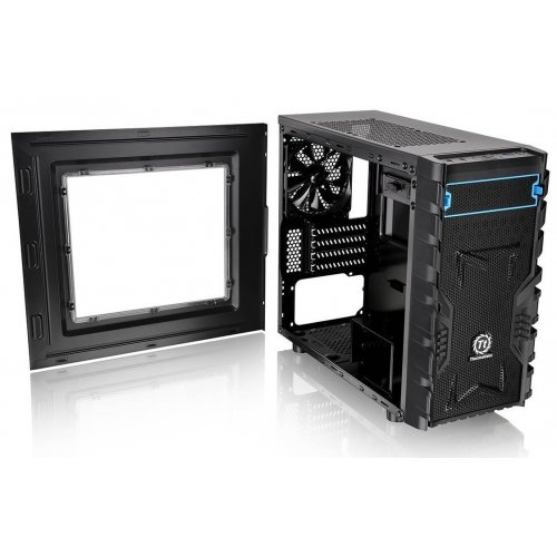Фото Корпус Thermaltake Versa H13 Window без БП (CA-1D3-00S1WN-00) Black