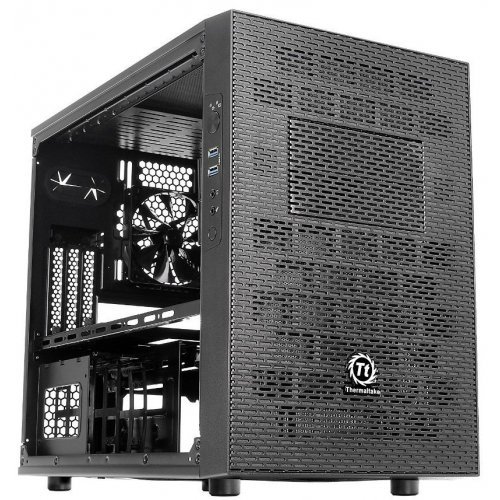 Фото Корпус Thermaltake Core X1 Window без БП (CA-1D6-00S1WN-00) Black