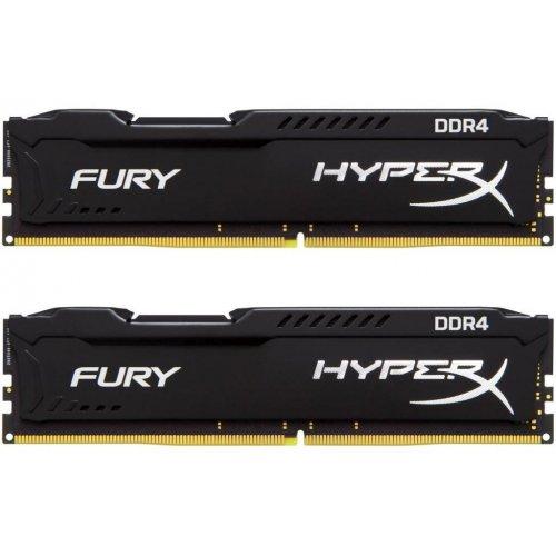Фото ОЗУ Kingston DDR4 8GB (2x4GB) 2400Mhz HyperX FURY Black (HX424C15FBK2/8)