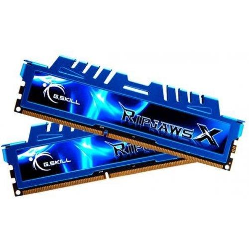 Фото ОЗУ G.Skill DDR3 8GB (2x4GB) 2400Mhz Ripjaws X (F3-2400C11D-8GXM)