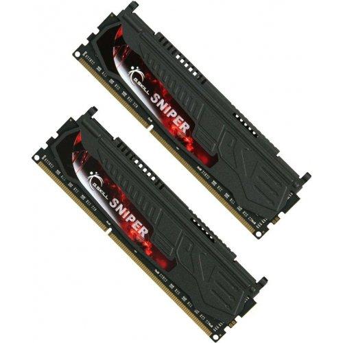 Фото ОЗУ G.Skill DDR3 8GB (2x4GB) 2133Mhz Sniper (F3-17000CL9D-8GBSR)
