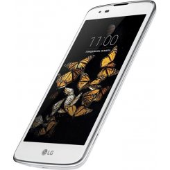 Фото Смартфон LG K8 K350E Dual White