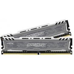 Фото ОЗУ Crucial DDR4 32GB (2x16GB) 2400Mhz Ballistix Sport (BLS2C16G4D240FSB)