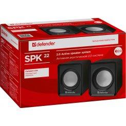 Фото Акустическая система Defender SPK-22 USB Black