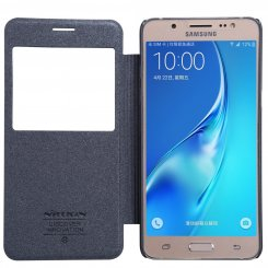 Фото Чехол Nillkin Sparkle Series для Samsung Galaxy J5 2016 Black