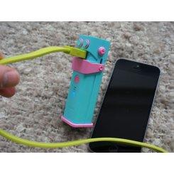 Фото Универсальный аккумулятор Ozaki O!tool Battery D26 2600 mAh (OT240AB) Aqua Blue