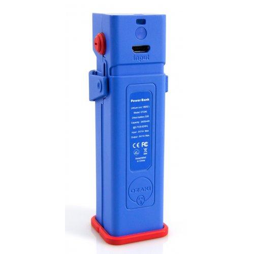 Фото Внешний аккумулятор Ozaki O!tool Battery D26 2600 mAh (OT240BU) Blue