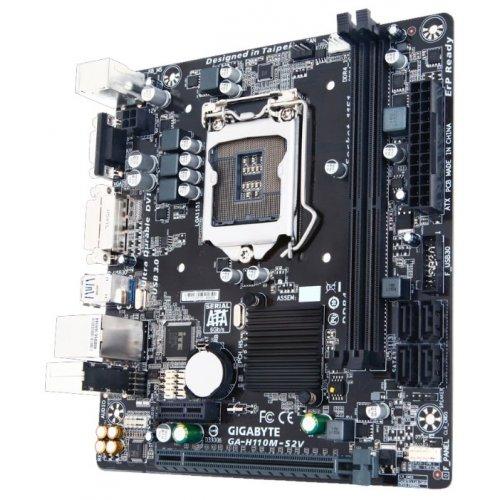 Фото Материнская плата Gigabyte GA-H110M-S2V (s1151, Intel H110)