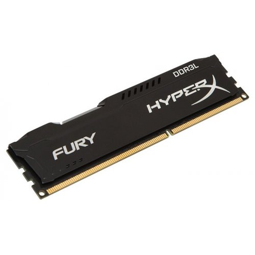 Фото ОЗУ Kingston DDR3 4GB 1866Mhz HyperX FURY Black (HX318LC11FB/4)
