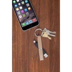 Фото USB Кабель Belkin MIXIT Keychain Lightning Black (F8J172bt) Gold