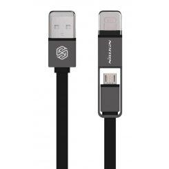Фото USB Кабель Nillkin Plus USB-C & Micro USB 1.2m Black