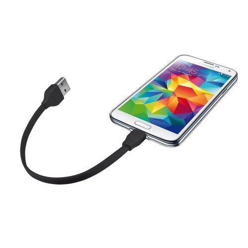 Фото USB Кабель Trust URBAN Flat Micro USB 0.2m Black