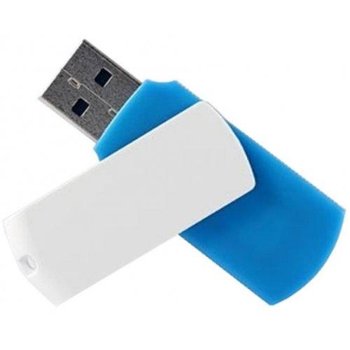 Фото Накопитель GoodRAM Colour MIX USB 2.0 16GB Blue/White (UCO2-0160MXR11)