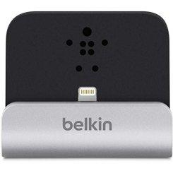 Фото Док-станция Belkin Charge + Sync Dock for iPhone Lightning (F8J045bt) Silver