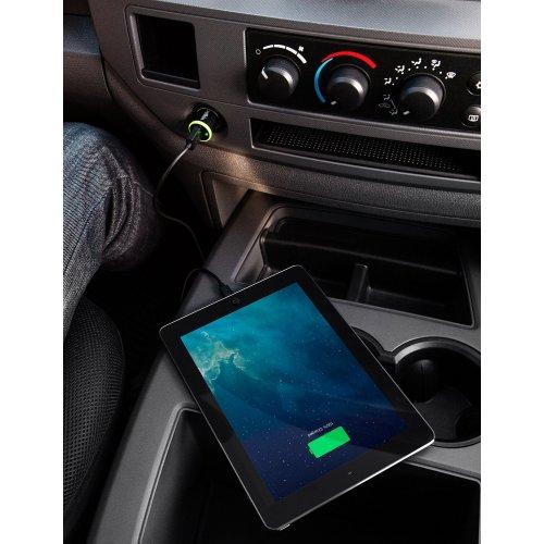 Фото Автомобильное зарядное устройство Belkin BOOST UP Car Charger Lightning 2.4 (F8J121bt04-BLK) Black