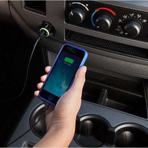 Фото Автомобильное зарядное устройство Belkin BOOST UP Car Charger 2.4 (F8J054btBLK) Black