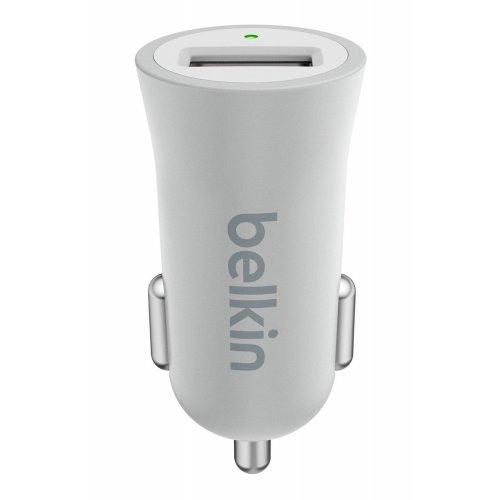 Фото Автомобильное зарядное устройство Belkin MIXIT Metallic 2.4A (F8M730bt) Silver