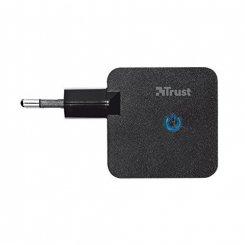 Фото Сетевое зарядное устройство Trust Wall 2.4A Black