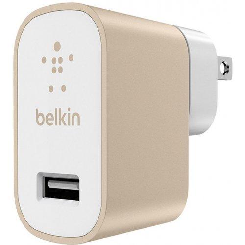 Фото Сетевое зарядное устройство Belkin MIXIT Metallic 2.4A (F8M731vf) Gold