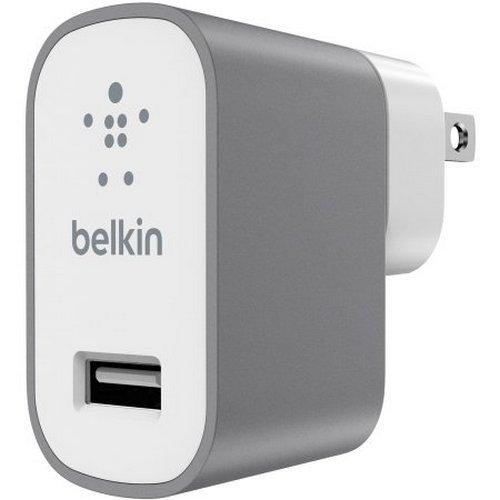 Фото Сетевое зарядное устройство Belkin MIXIT Metallic 2.4A (F8M731vf) Gray