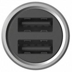 Фото Автомобильное зарядное устройство Xiaomi Mi Car Charger Silver