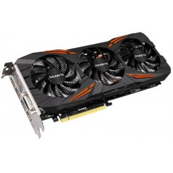 Фото Видеокарта Gigabyte GeForce GTX 1080 G1 Gaming 8192MB (GV-N1080G1 GAMING-8GD)