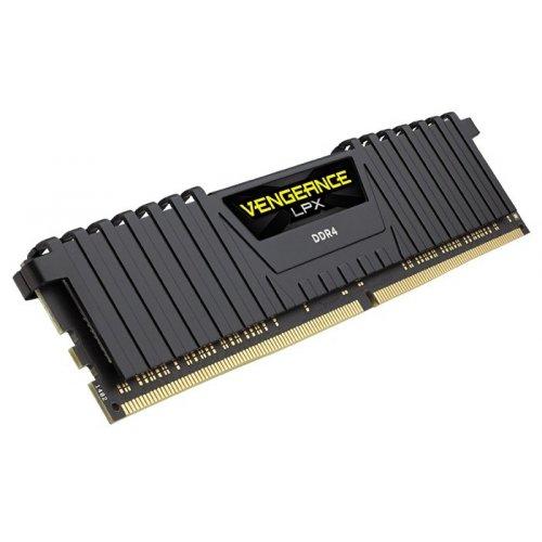 Фото ОЗУ Corsair DDR4 16GB 2400Mhz Vengeance LPX Black (CMK16GX4M1A2400C14)
