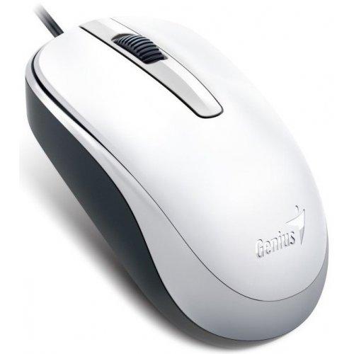 Фото Мышка Genius DX-120 USB (31010105102) White