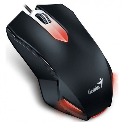 Фото Мышка Genius X-G200 Gaming USB (31040034100) Black
