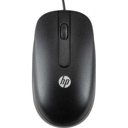 Фото Мышка HP 3-button Laser USB (H4B81AA) Black
