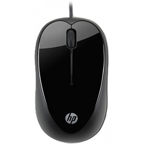Фото Мышка HP X1000 USB (H2C21AA) Black