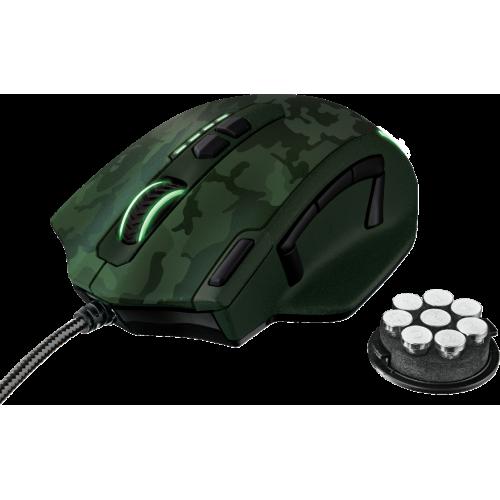 Фото Мышка Trust GXT 155C Gaming (20853) Green Camouflage