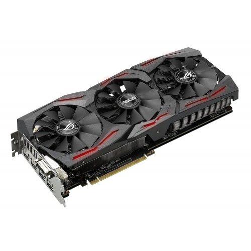 Фото Видеокарта Asus ROG GeForce GTX 1080 STRIX 8192MB (STRIX-GTX1080-8G-GAMING)