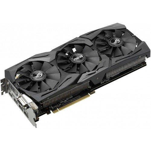 Фото Видеокарта Asus ROG GeForce GTX 1070 STRIX OC 8192MB (STRIX-GTX1070-O8G-GAMING)