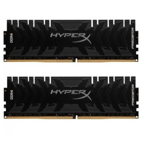 Фото ОЗУ Kingston DDR4 16GB (2x8GB) 3333Mhz HyperX Predator (HX433C16PB3K2/16)