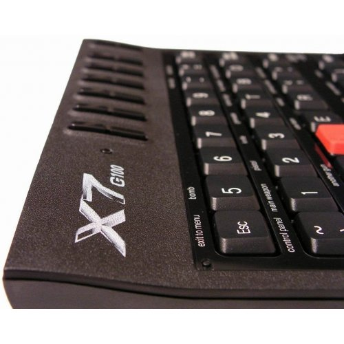 Фото Клавиатура A4Tech X7-G100 USB Black