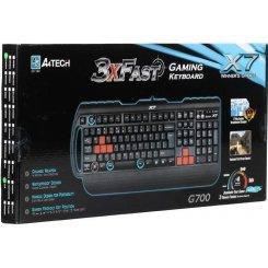 Фото Клавиатура A4Tech X7-G700 PS/2 Black