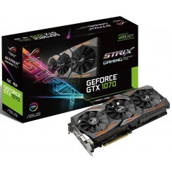 Фото Видеокарта Asus ROG GeForce GTX 1070 STRIX 8192MB (STRIX-GTX1070-8G-GAMING)