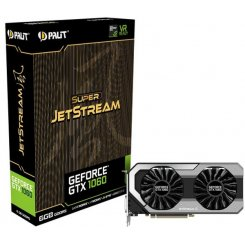 Фото Видеокарта Palit GeForce GTX 1060 Super JetStream 6144MB (NE51060S15J9-1060J)
