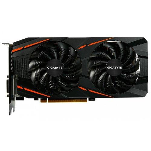 Фото Видеокарта Gigabyte Radeon RX 480 G1 GAMING 8192MB (GV-RX480G1 GAMING-8GD)