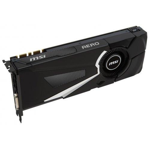 Фото Видеокарта MSI GeForce GTX 1070 AERO OC 8192MB (GTX 1070 AERO 8G OC)