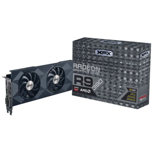 Фото Видеокарта XFX Radeon R9 390 Double Dissipation 8192MB (R9-390P-8DF6)