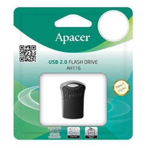 Фото Накопитель Apacer AH116 16GB Black (AP16GAH116B-1)