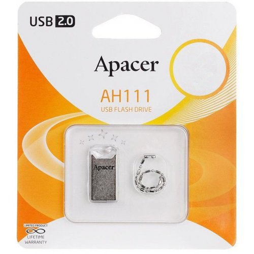 Фото Накопитель Apacer AH111 32GB Crystal (AP32GAH111CR-1)