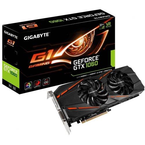 Фото Gigabyte GeForce GTX 1060 G1 Gaming 6144MB (GV-N1060G1 GAMING-6GD)