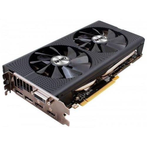 Фото Видеокарта Sapphire Radeon RX 480 NITRO+ OC 8192MB (11260-01-20G)