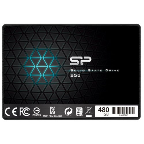 Фото SSD-диск Silicon Power Slim S55 480GB 2.5