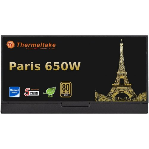 Фото Блок питания Thermaltake Paris Gold 650W (W0493RE)