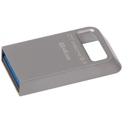 Фото Накопитель Kingston DT Micro 3.1 DTMC3 64GB (DTMC3/64GB)