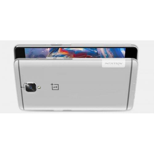 Фото Чехол Чехол Nillkin Nature TPU для OnePlus 3 White